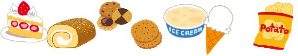 デザート類