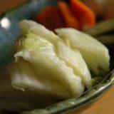白菜(ハクサイ)のぬか漬け