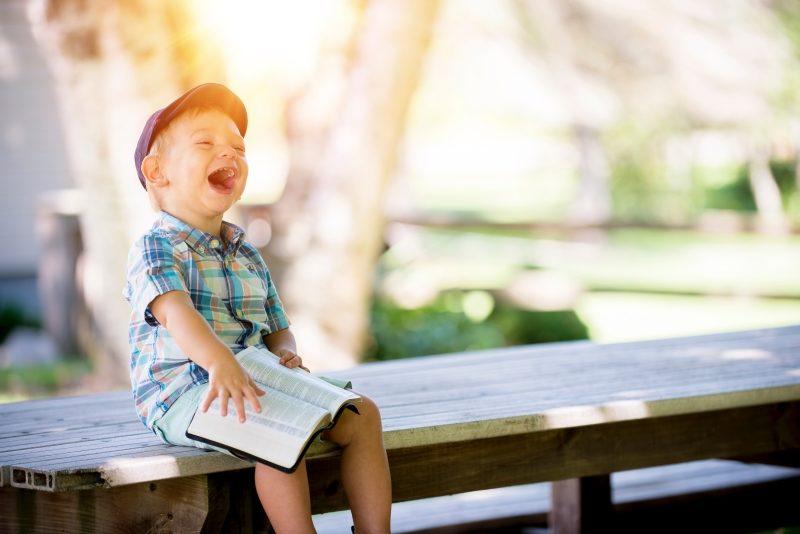 幸せそうな子ども