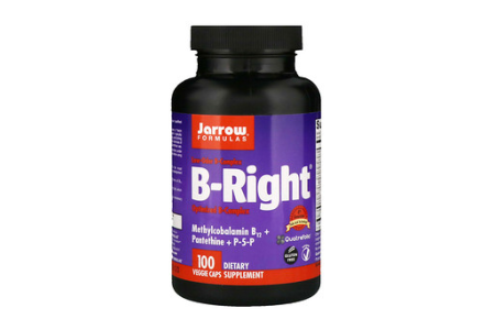 B-Right/ビタミンB群、植物性カプセル、100日分、1600円前後