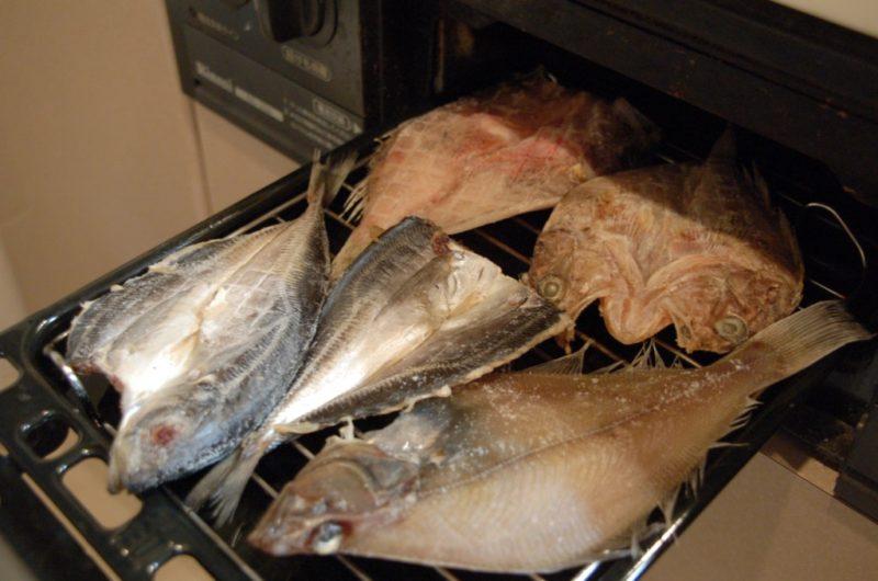 日本海で獲れた干物のセット