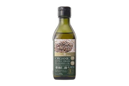 亜麻仁油(フラックスシードオイル)/ニュージーランド産、オーガニック、エキストラバージン、低温圧搾、170g、1600円前後