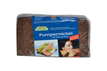 ライ麦パン/全粒、小麦不使用、無添加、500g(7枚)500円前後