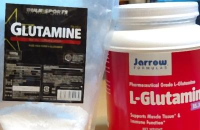 Lグルタミンのサプリ