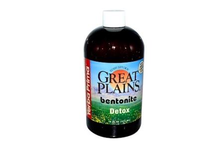 ベントナイトクレイ/グレートプレーンズ、食品・医薬品グレード、水和、473ml、1300円前後